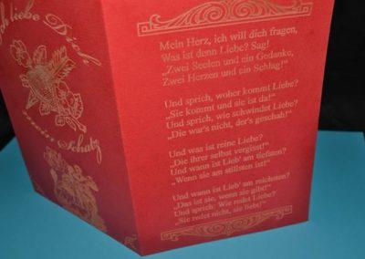 Dankeskarten, Hochzeitskarten oder Geburtsanzeigen etc.