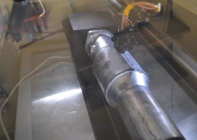 der Kennzeichnung auf Aluminium - Lasergravur.