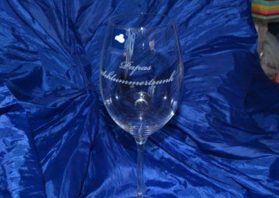 Personalisierte Geschenke aus Glas