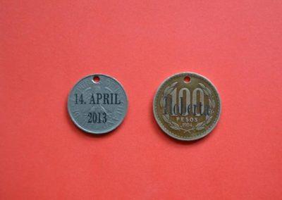 Münzen und andere Auszeichnungen mit individuellen Gravuren