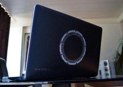 Laptops lasergravieren