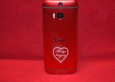 HTC-Gehäuse lasern