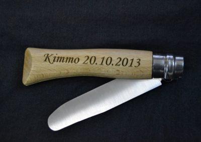 Gravur-Messer-Taschenmesser