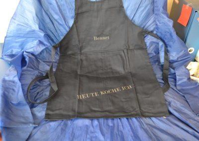 Textilien und Stoffe gravieren