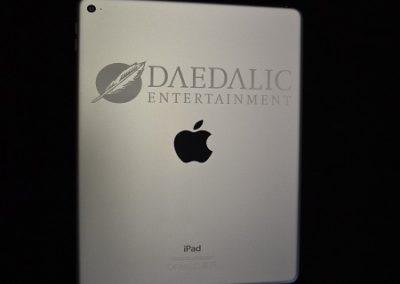 Individuelle iPod Gravur