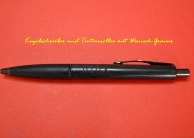 Kugelschreiber-Gravur-