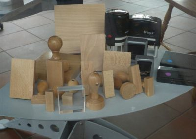 Holz Stempel