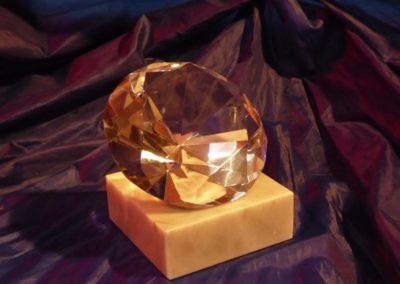 Die Diamant wird verwendet zum Gravieren