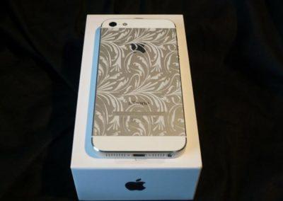 Lasergravur auf Apple iPhone 5