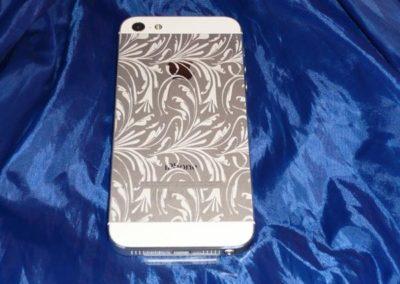 das iPhone 5 mit Lasergravur