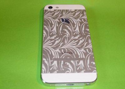 iPhone 5 mit Lasergravur