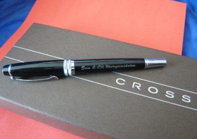 Füller mit individueller Gravur.