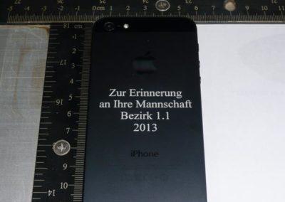 wir gravieren Ihre iPhon 5