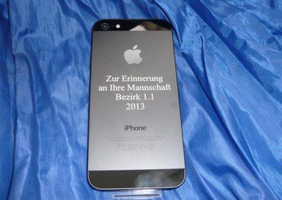 iPhone 5: Lasergravur