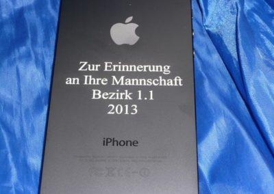 Lasergravur auf dem Apple neuen iPhone 5 - einfach, schön, individuell!