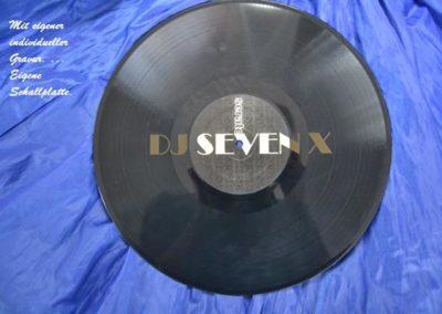 Schallplatte-Gravur
