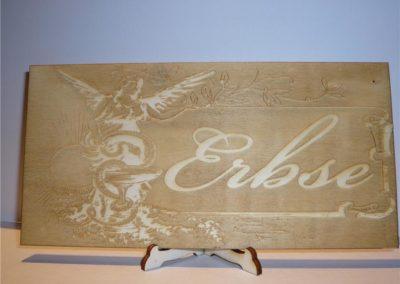 Holzschilder  Gravur nach Ihren Vorstellungen