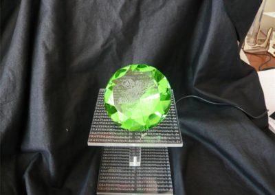 Diamant mit individueller Wunsch-Gravur