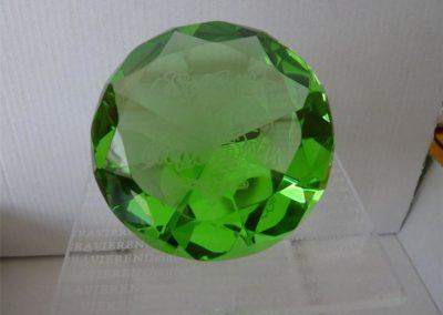 Diamant mit Gravur