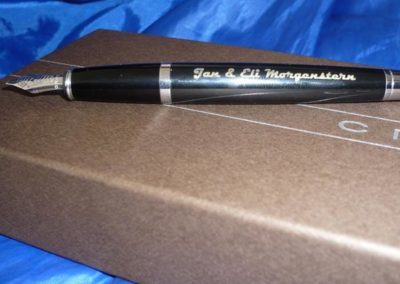 füller mit gravur