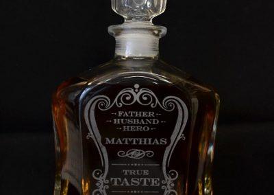 Whisky Flasche Gravieren Hamburg